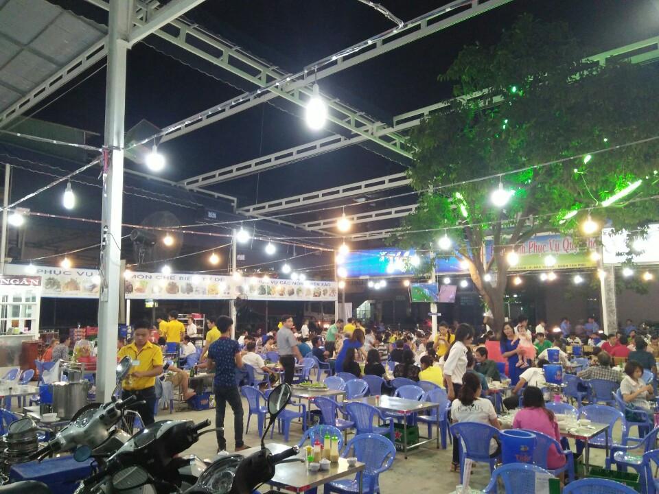 Mái che nhà hàng - Bạt Che Thành Nhân