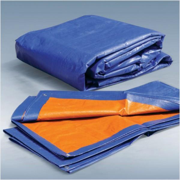bạt nhựa xanh cam